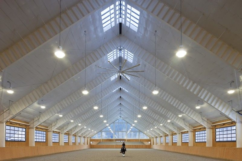 Stable Style Riverlands Equestrian Facility Dream Barn Beautiful Horse Barns Equestrian Facilities