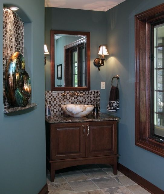 powder room paint ideas