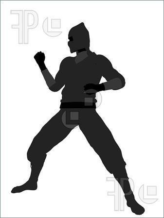 Ninja-Illustration-Silhouette-1592231.jpg 337×449 pixels