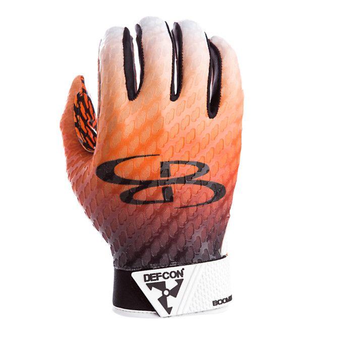 e8eaabd46 Men s DPS Ultra-Grip Receiver Gloves Black Orange White