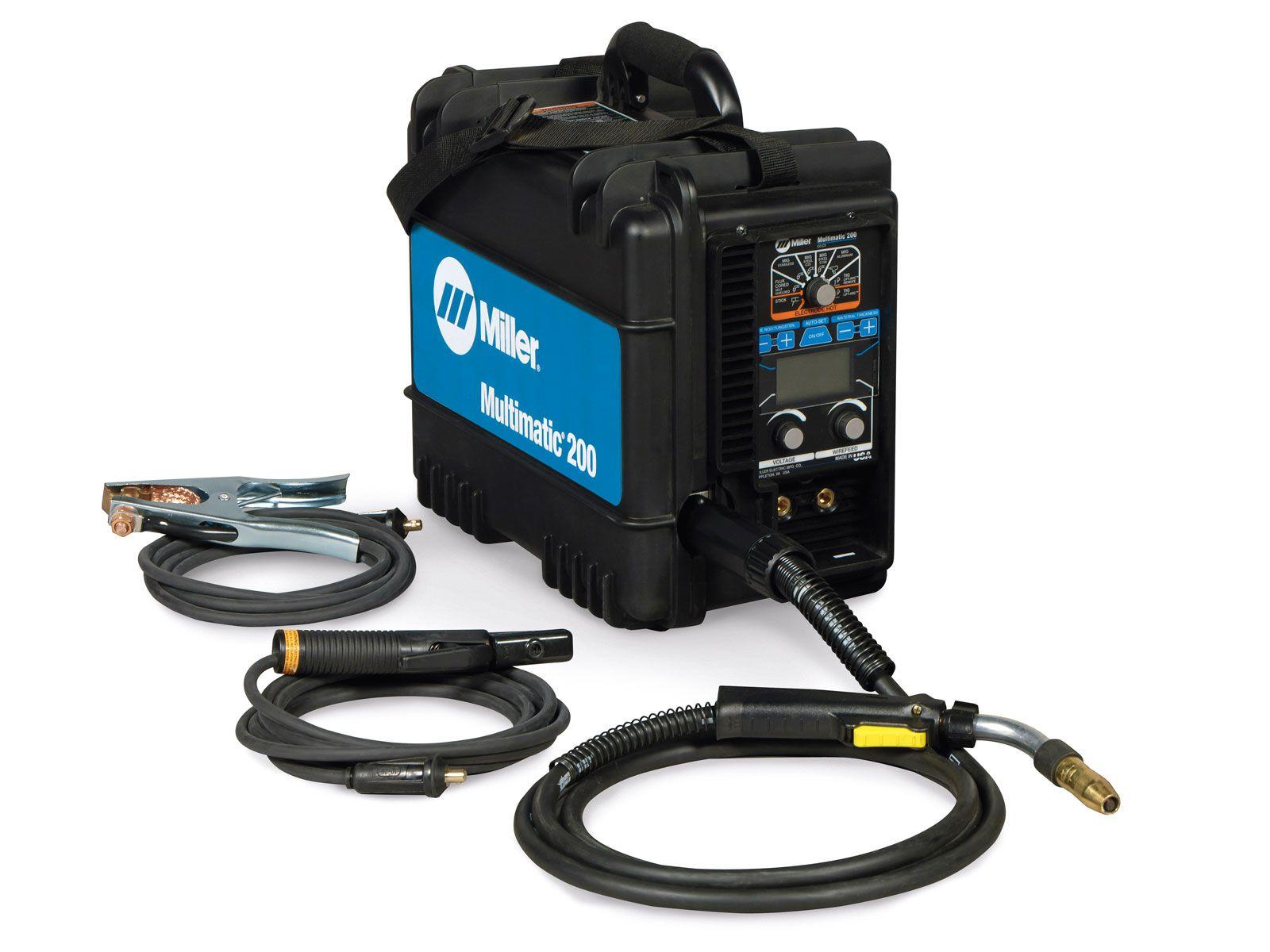 New Multimatic 200 AllinOne Portable Welding System