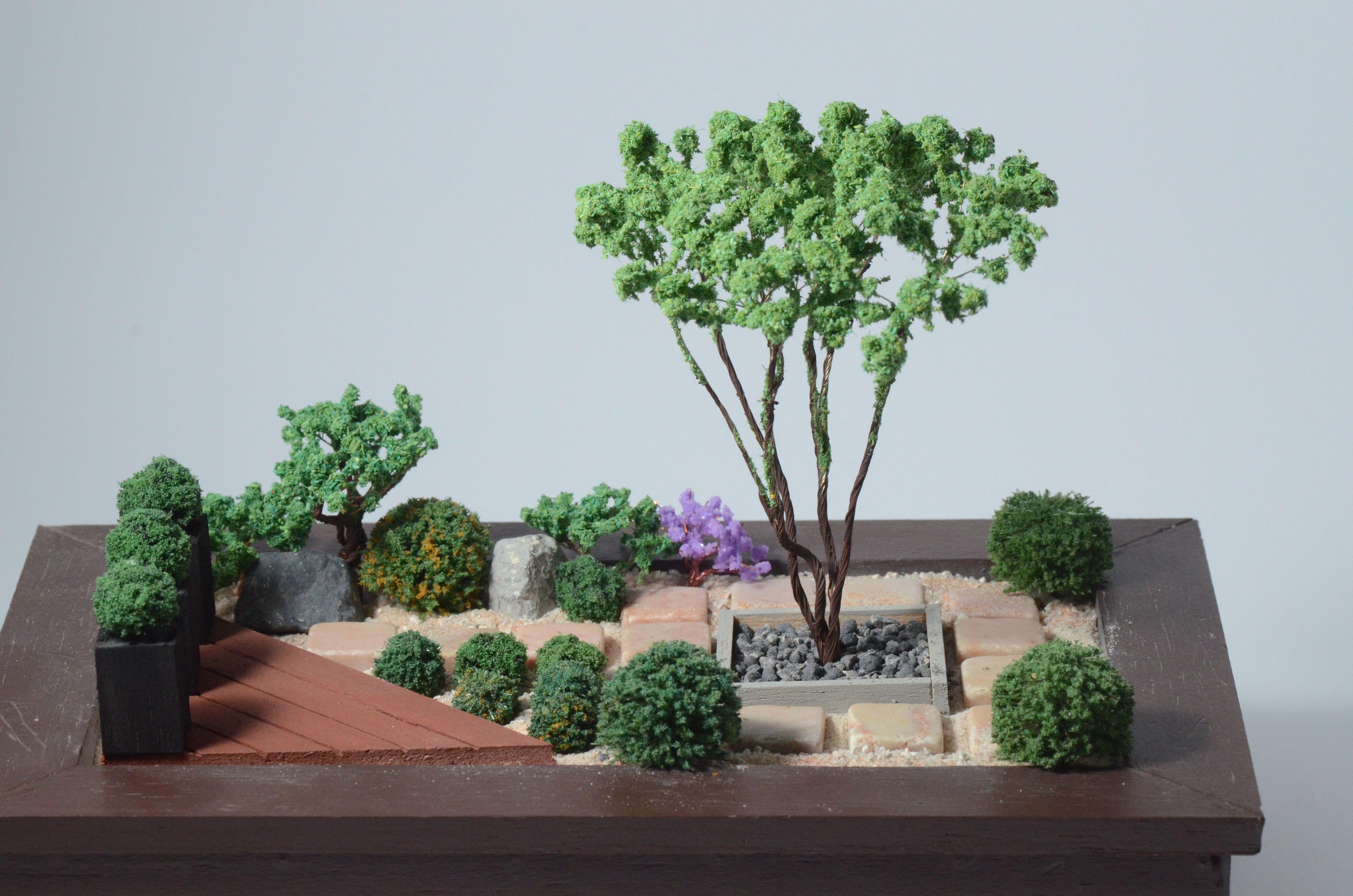 Miniature Zen Garden By Wallzart Miniature Zen Garden Miniature Garden Zen Garden