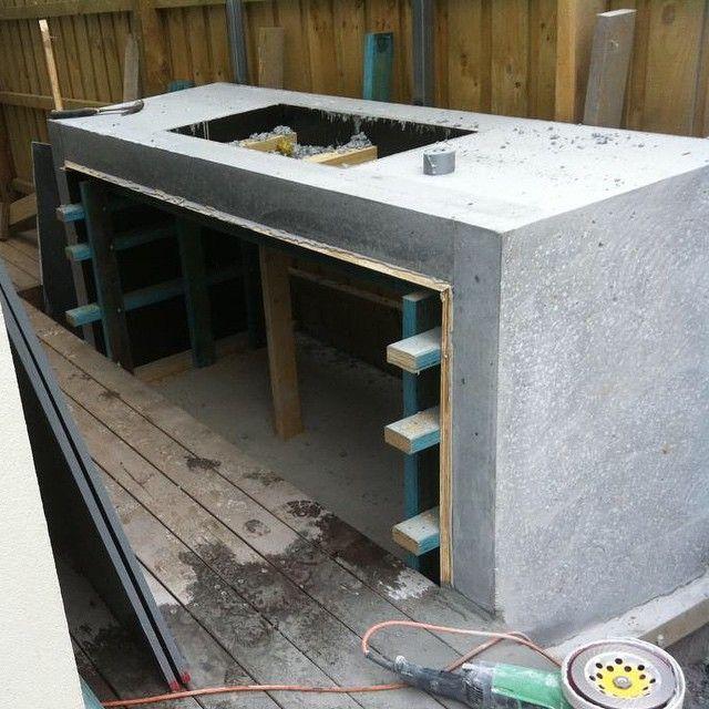 19 Best Ideas Outdoor Kitchen Designs Concrete Outdoor Kitchen Outdoor Bbq Kitchen Outdoor Kitchen Design
