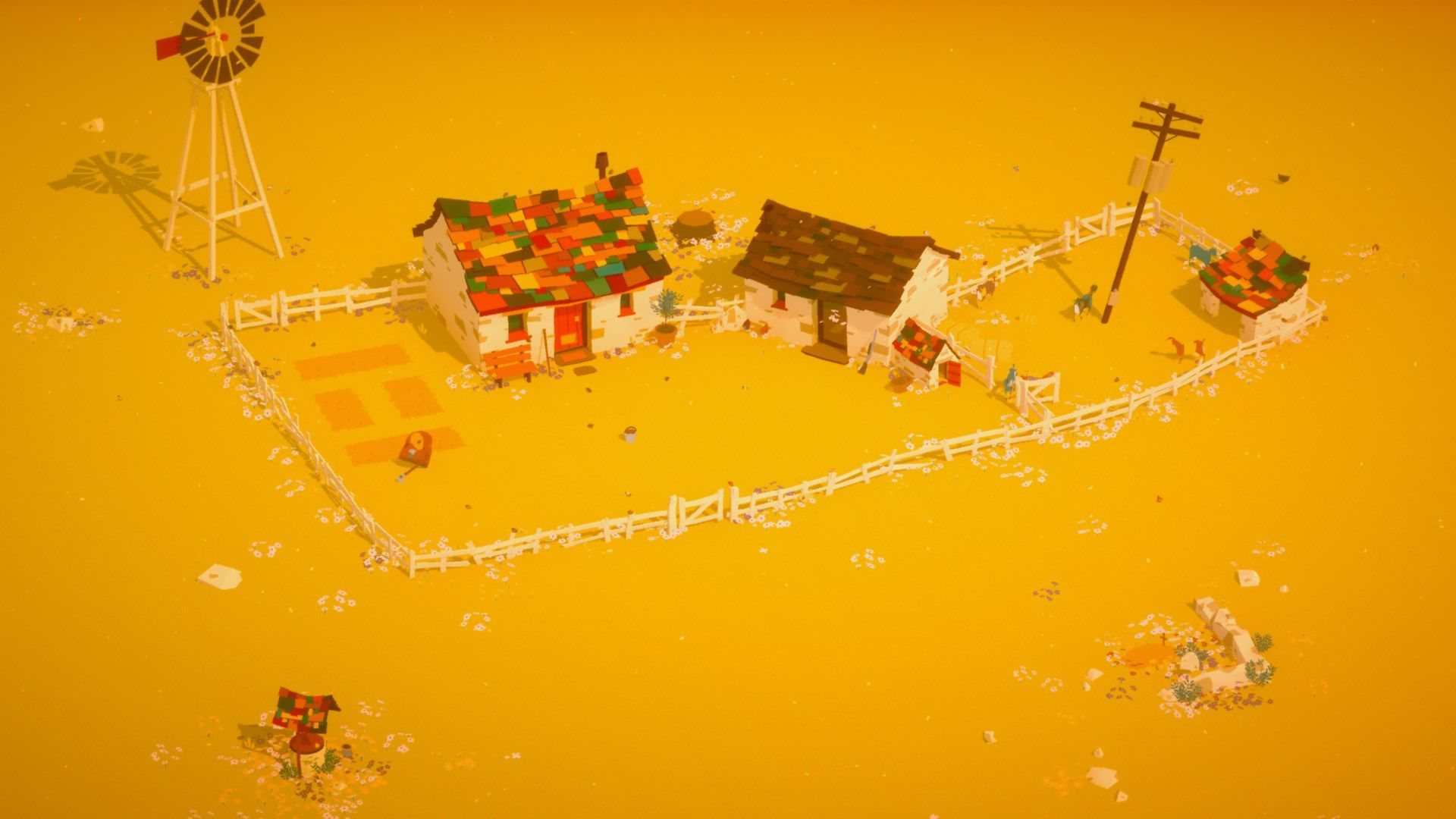 "Grandma Farming Simulator ""The Stillness of the Wind"" Now"