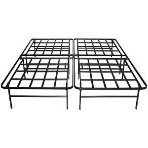 Home Steel Bed Frame Box Spring Bed Frame Steel Bed