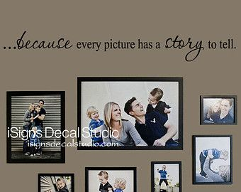 Family wall decal Memories Wall Decal by WallapaloozaDecals & Family wall decal - Memories Wall Decal - Family decal - Family Room ...