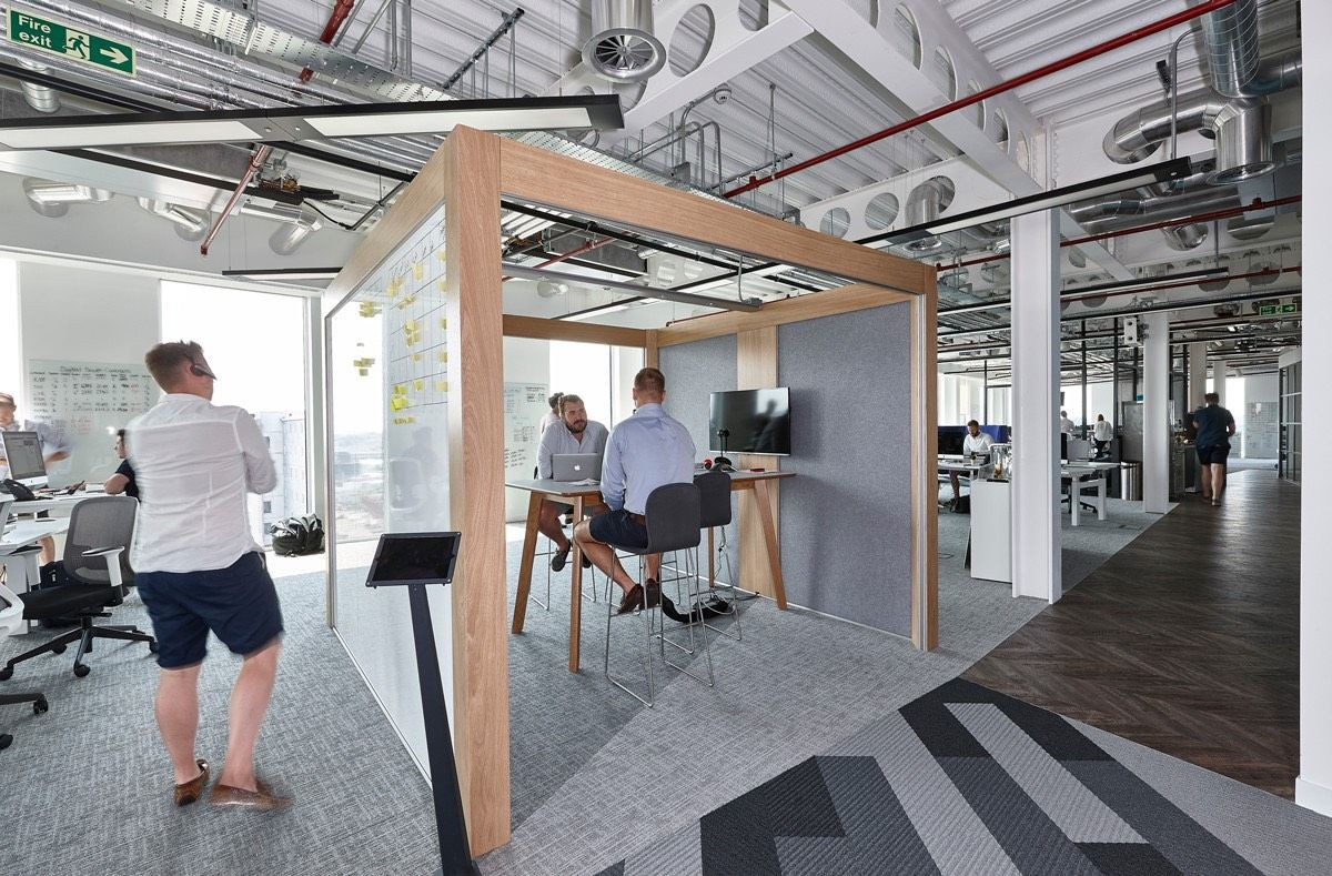 A Tour Of Austin Fraser S New Reading Office Garage Design Interior Garage Decor Garage Interior