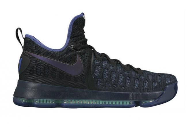 e2e9c6b3a1d Nike Kevin Durant KD 9 Obsidian Dark Purple Dust Black 2019 Fall Size Euro  45