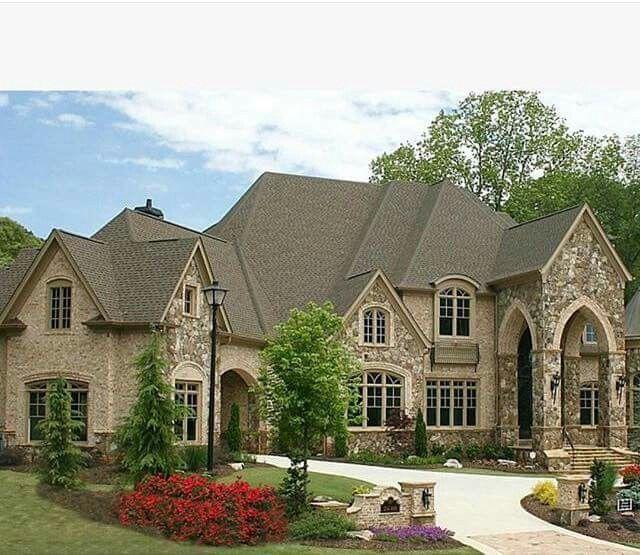 Luxury Brick Homes: Pin By Mascline Chiduma On Beautiful Homes