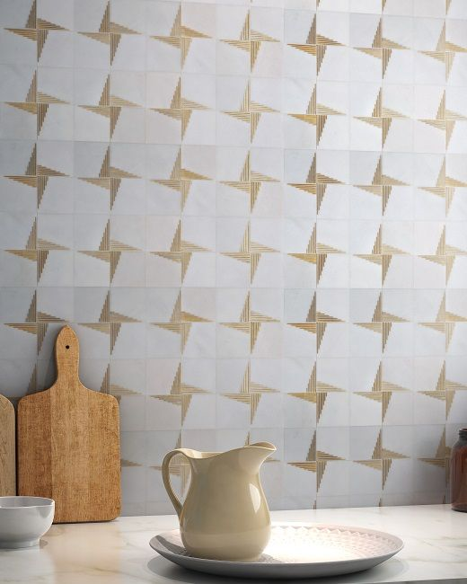 Ann Sacks Paire Marble Tile Michigan Design Center