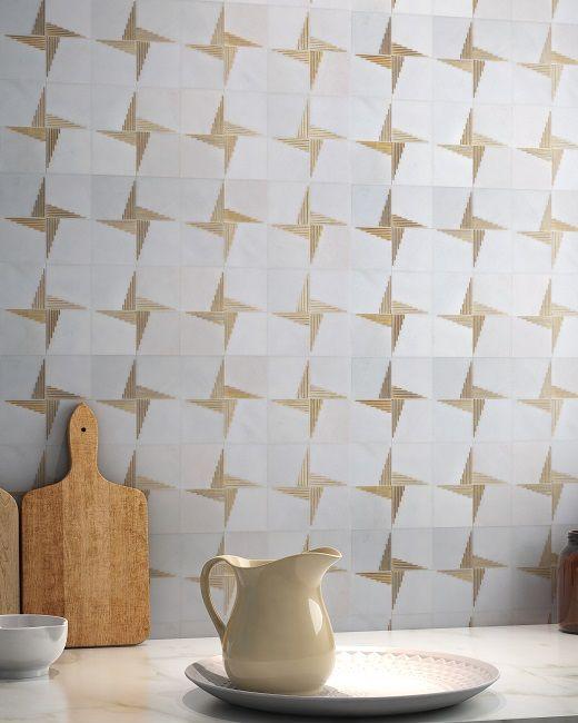 Ann Sacks Mosaic Bathroom Tile: Ann Sacks Paire Marble Tile. Ann Sacks