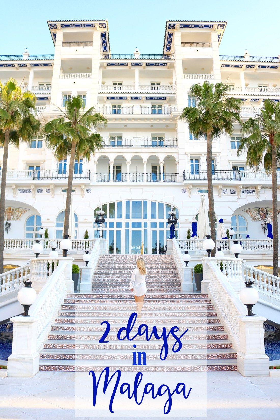 Two Days In Malaga At Hotel Gran Miramar Malaga Malaga Spain