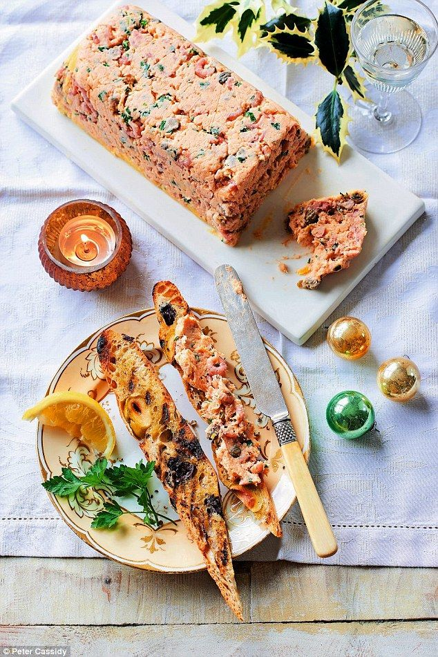 Christmas Made Very Easy Salmon And Shrimp Pate Cocktails And