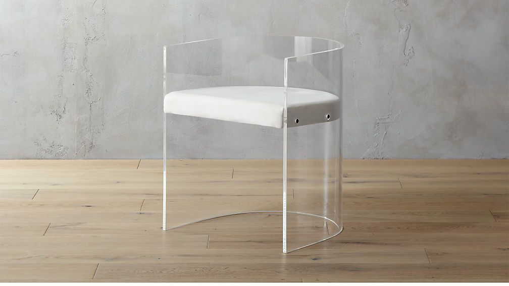 antonio acrylic chair | CB2