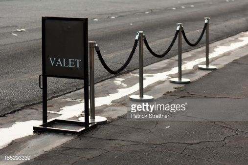 Sign and stanchions for valet parking in 2019 | Union Home