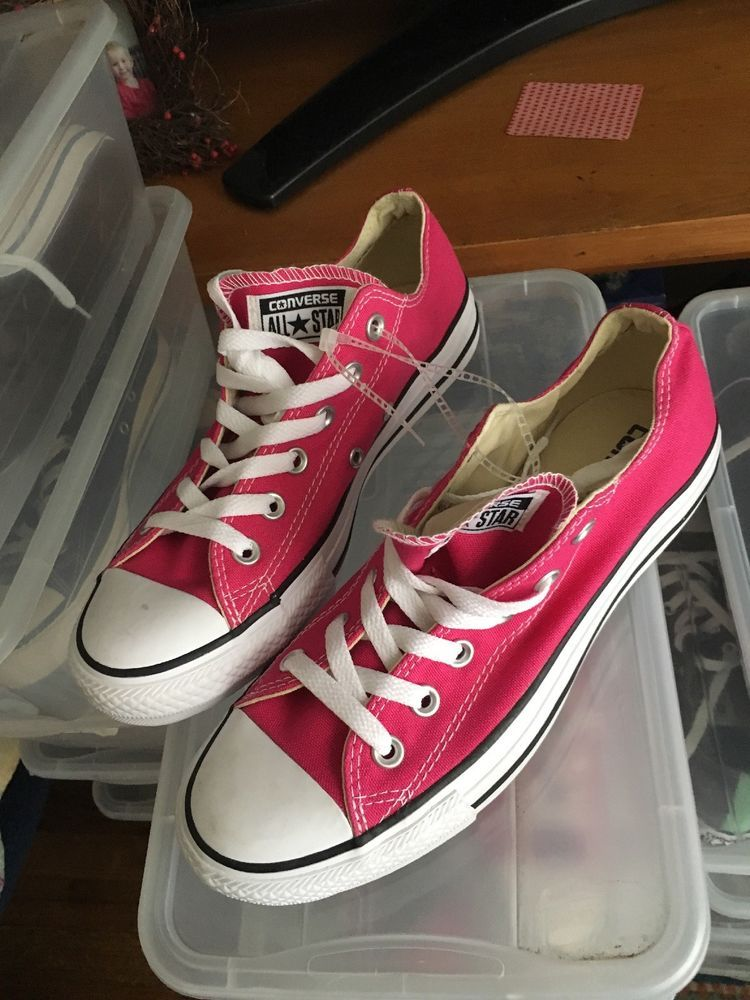 18ea2ef5f098 converse all star womens size 8 Pussycat Pink  fashion  clothing  shoes   accessories