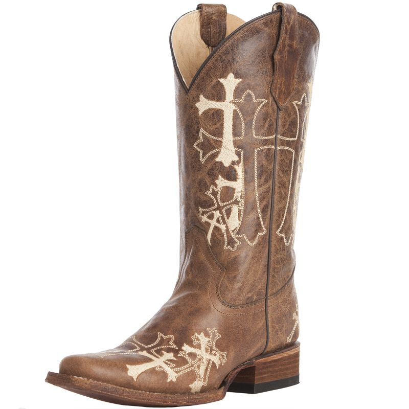 Womens Cowboy Boots With Crosses - Cr Boot