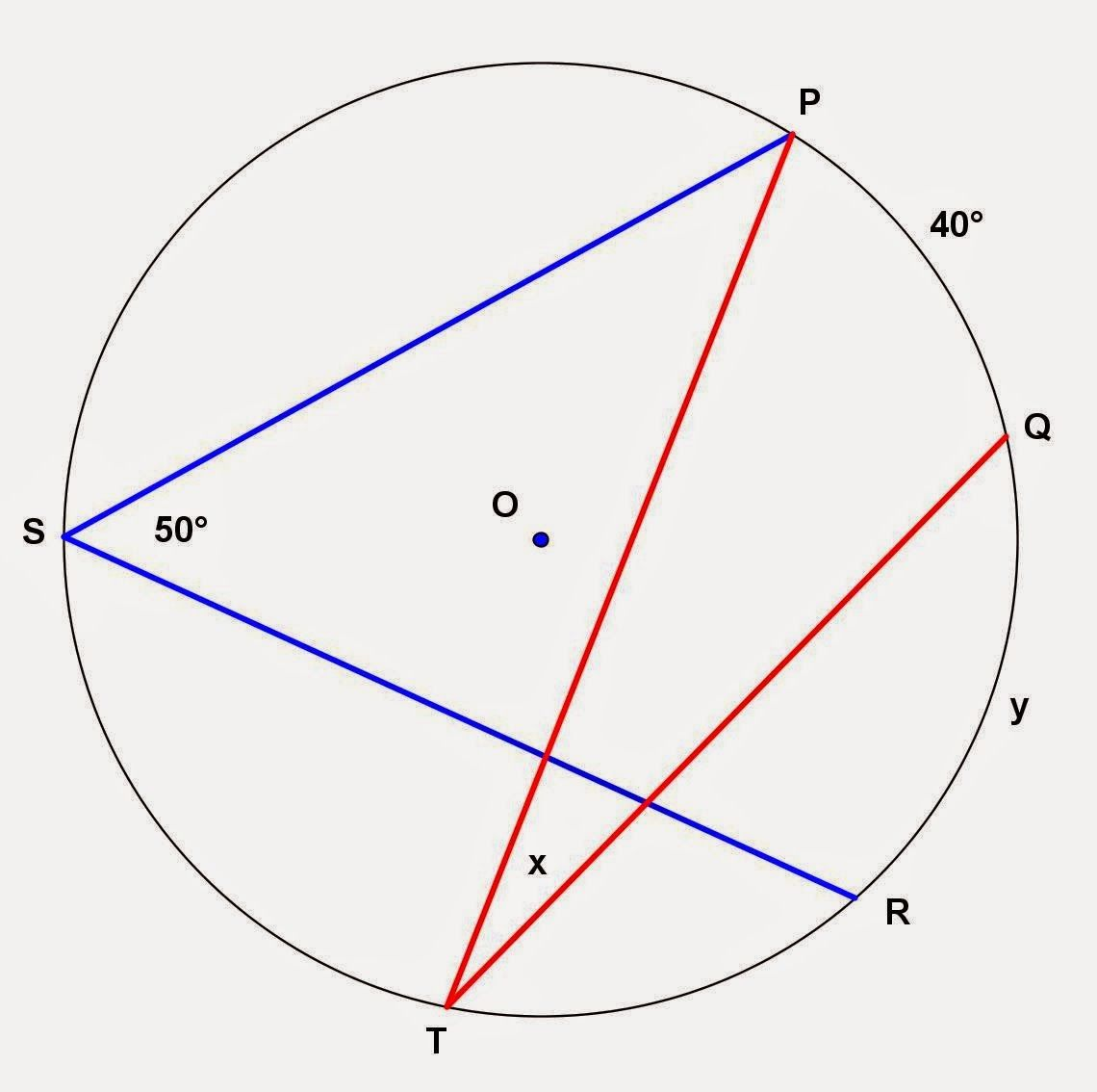 Circle And Inscribed Angle Problems Circle Theorems Plane Geometry Circle