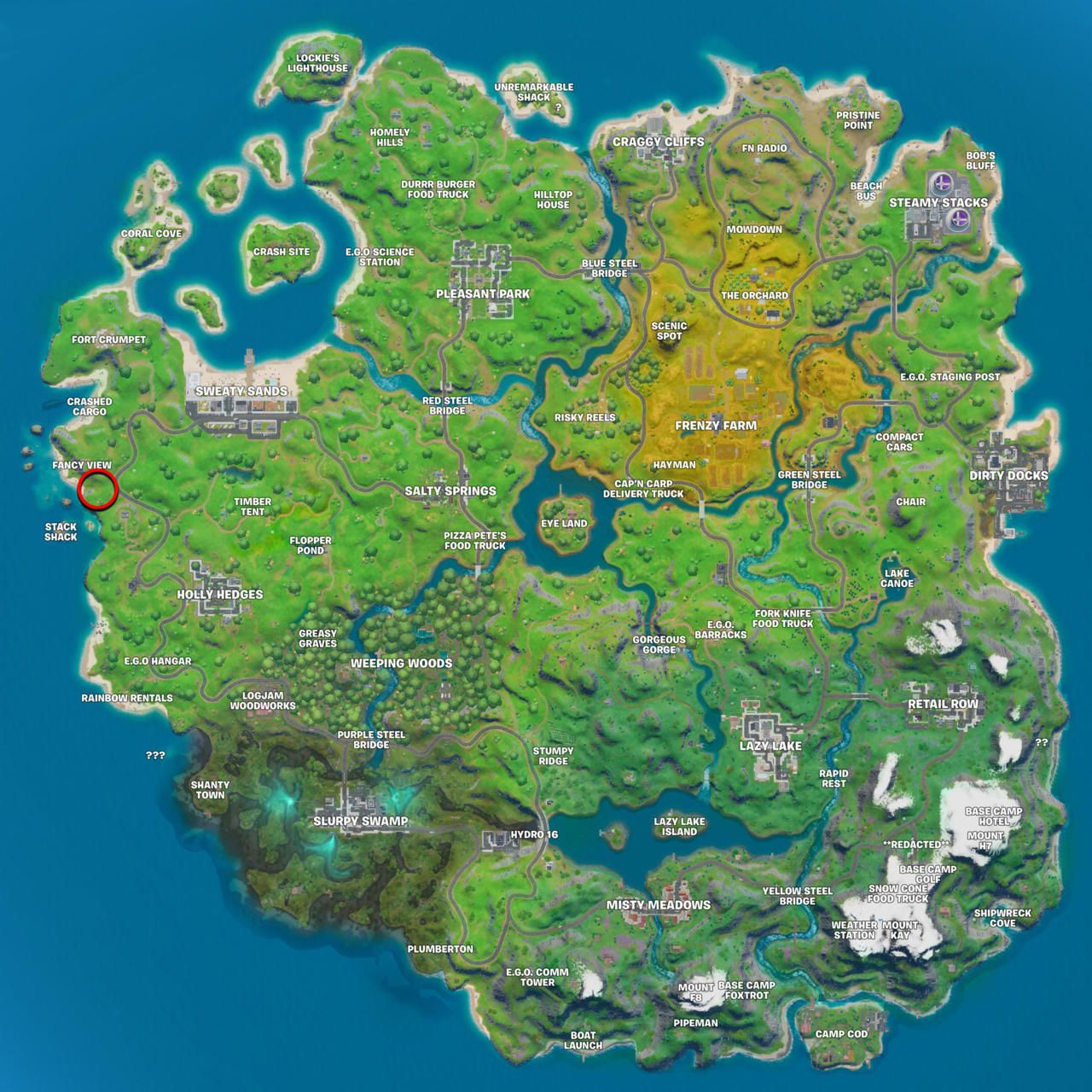 Fortnite Gnome Location Where To Search The Hidden Gnome Between