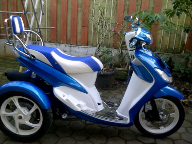 Top modifikasi motor roda 3