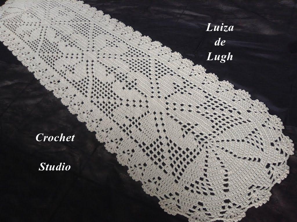 Croch tapete com 1 metro e 75 cm luiza de lugh for Tapetes de crochet