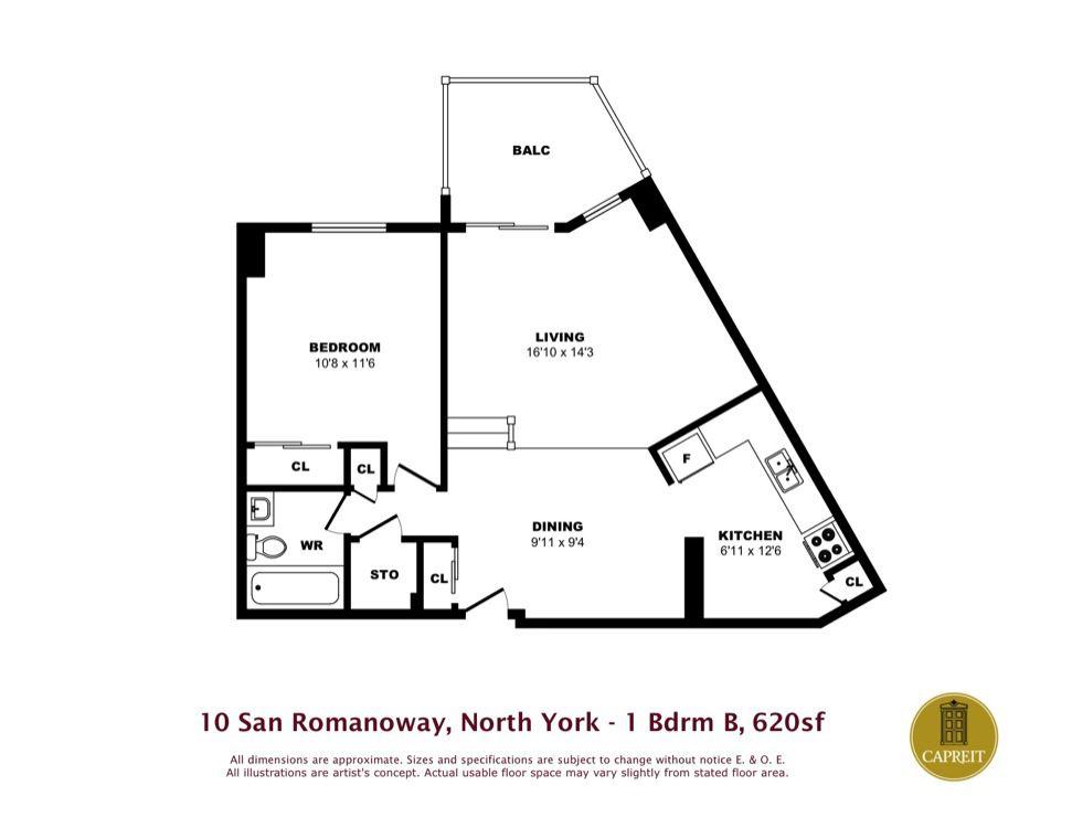 North york by CAPREIT on San Romanoway Apartments ...