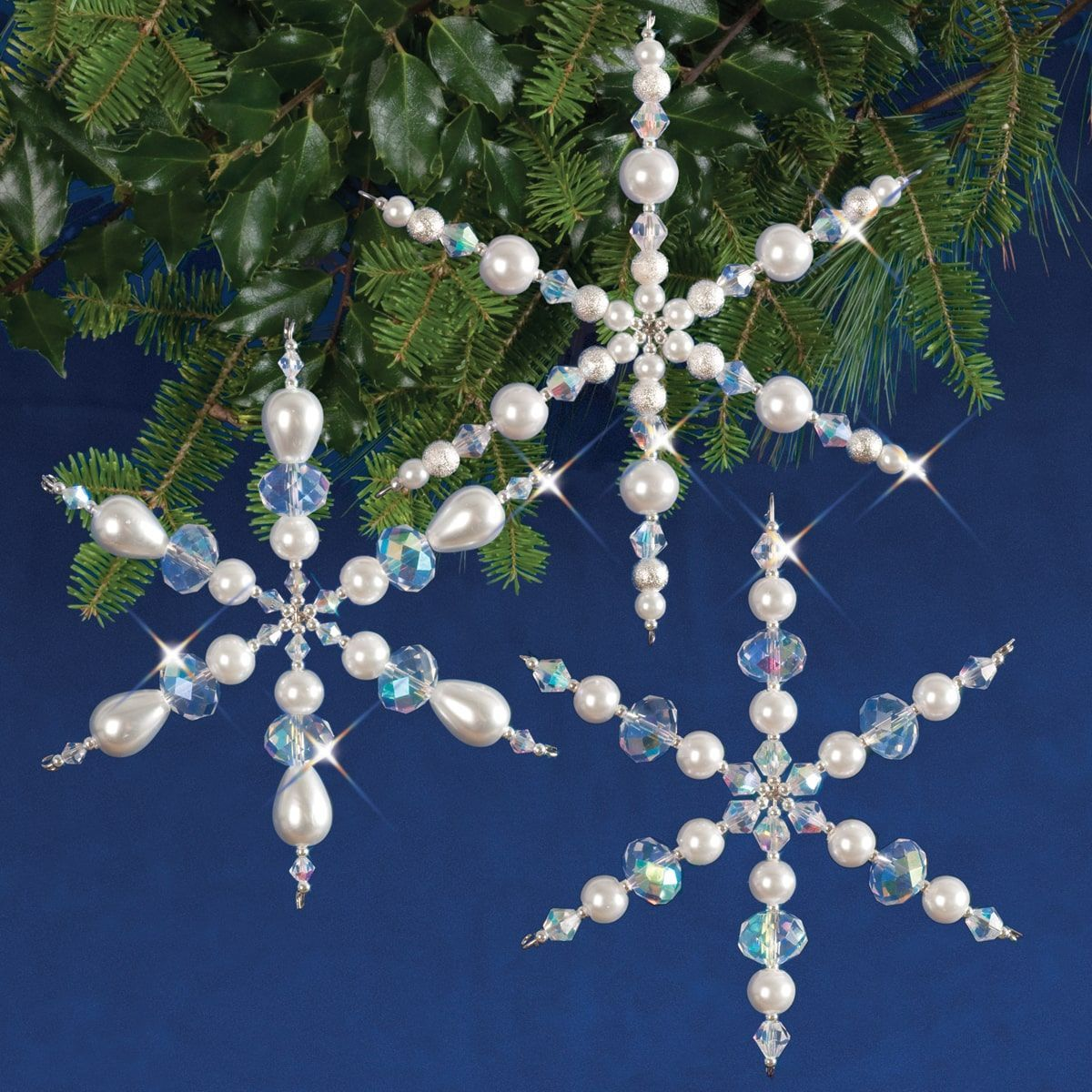 26++ Snowflake ornament craft with beads information