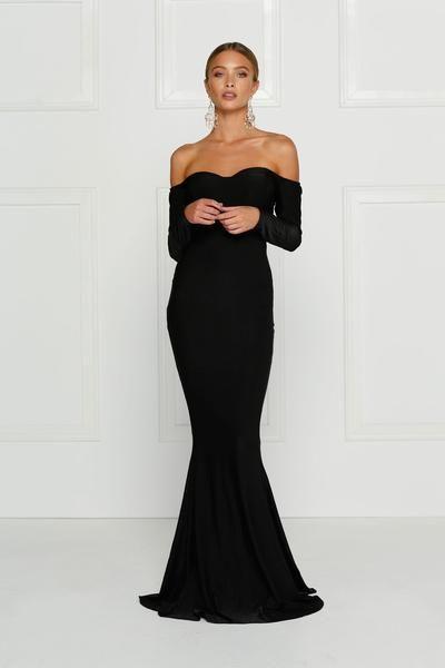 01811a2448ca Salma Off- Shoulder Gown - Nouveau Riche Boutique