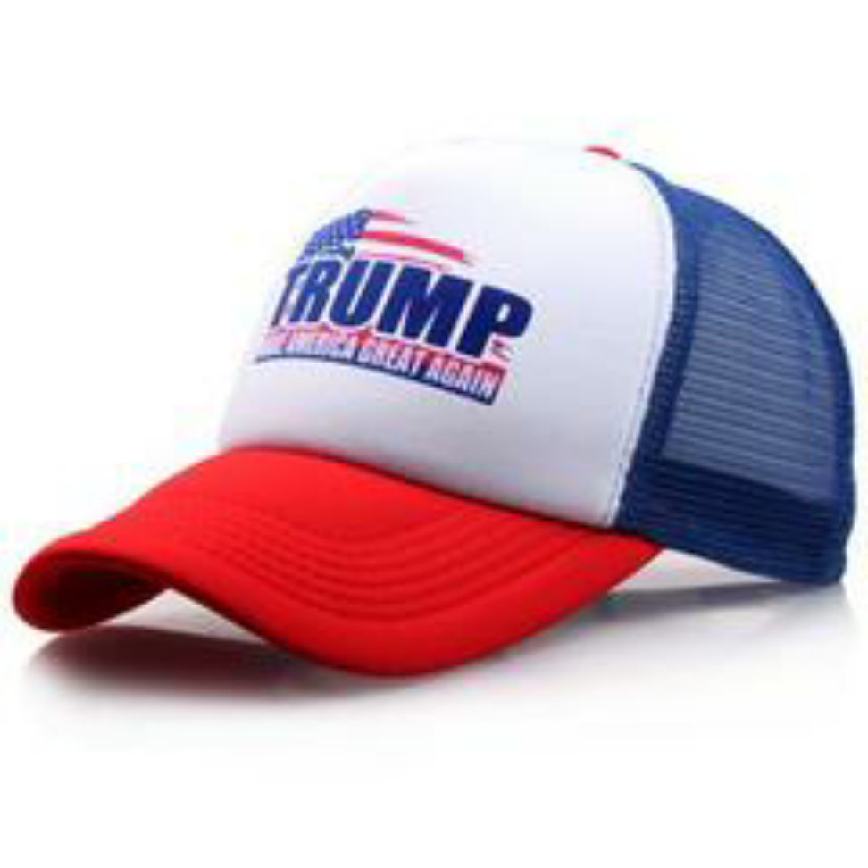 ESPN hat Trucker Hat Mesh Hat black new adjustable