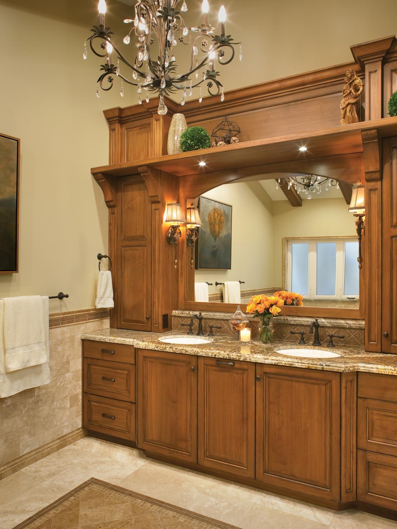Romantic Bathroom Lighting Ideas | Romantic bathrooms, Hgtv and Bath ...