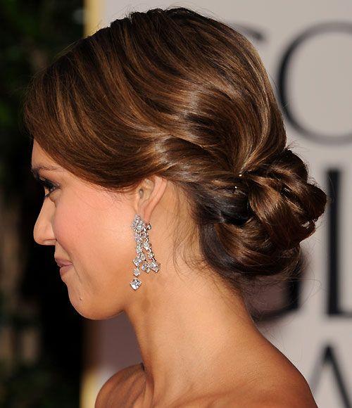 Golden Globes 2012 Red Carpet Hair