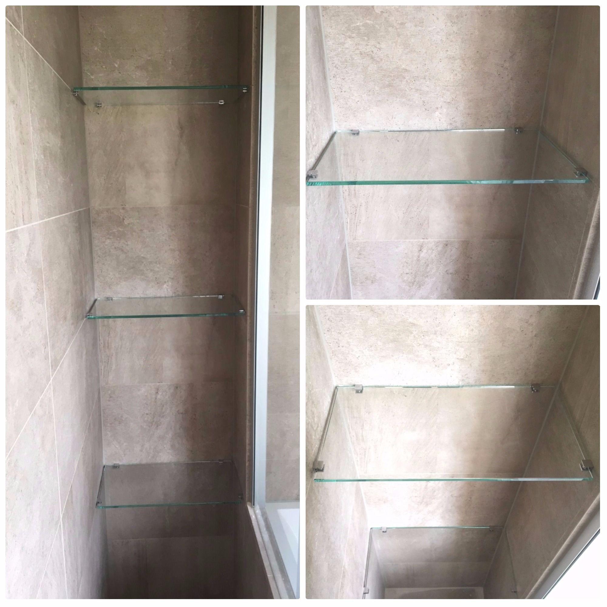 Hardglazen planchets voor in de Badkamer op maat gemaakt #planchet I ...