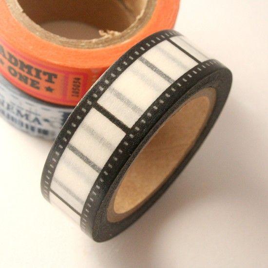 masking tape cinéma / bobine de film