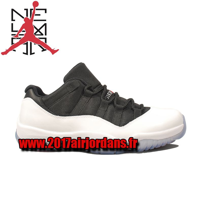 air jordan 11 blanc et noir
