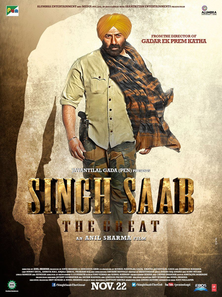 Image result for singh saab the great movie poster