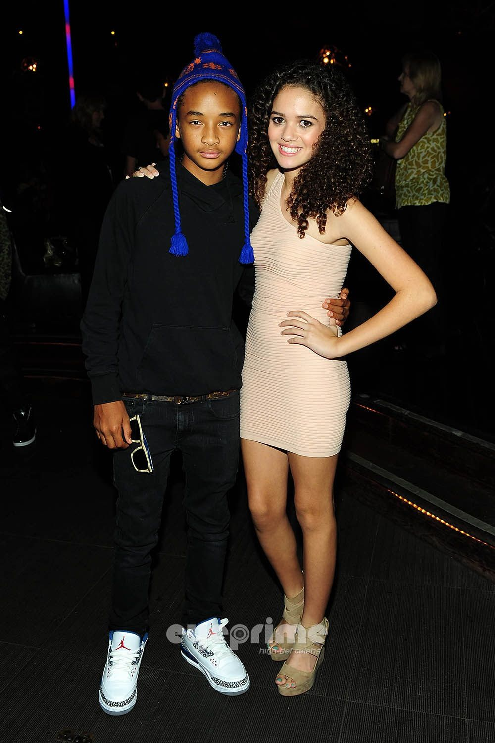 Madison Pettis And Jaden Smith Kissing Jaden Smith and...