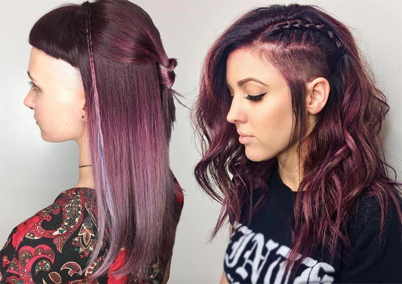 51 Long Undercut Hairstyles For Women A Diy Way To Undercut Your Hair Undercut Hairstyles Undercut Long Hair Haircuts For Long Hair