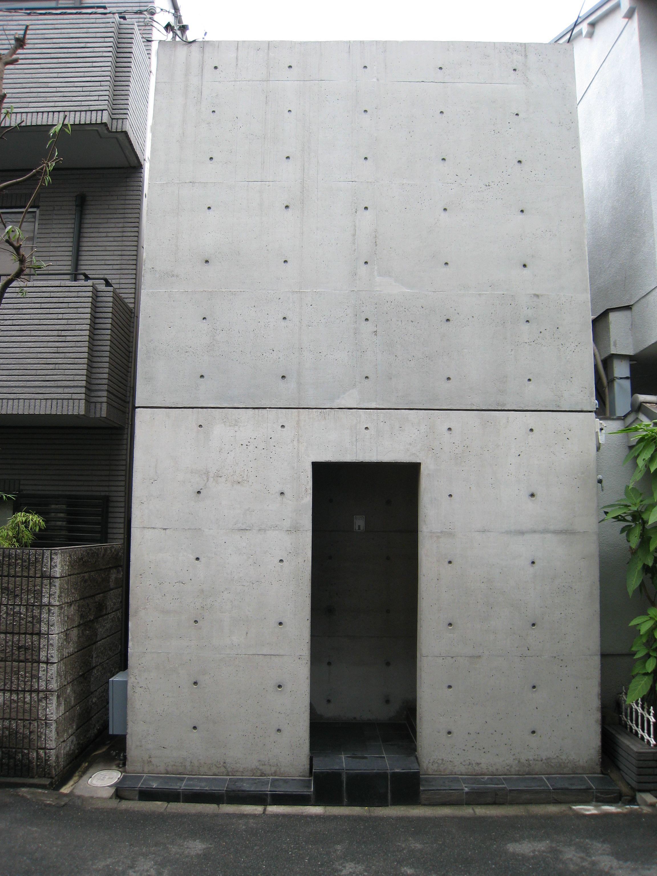 Ando Azuma House Jpg 2304 3072 Architecture Concrete Architecture Concrete House
