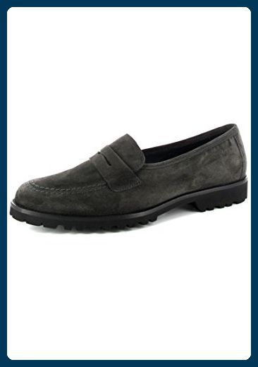 SIOUX Leder Damen Halbschuh Loafer Schlüpfer Slipper