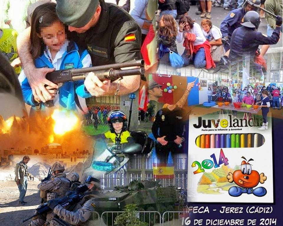 ECO-DIARIO-ALTERNATIVO: Jerez: NO A LOS CUERPOS MILITARES Y REPRESIVOS EN JUVELANDIA