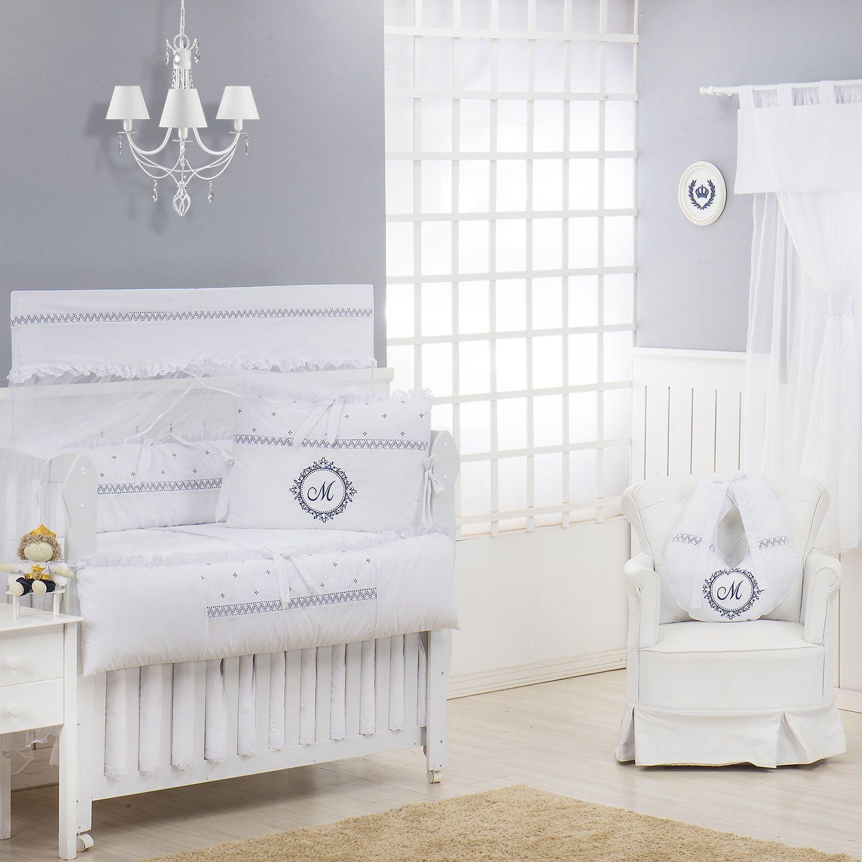 Enxoval personalizado para quarto de bebê