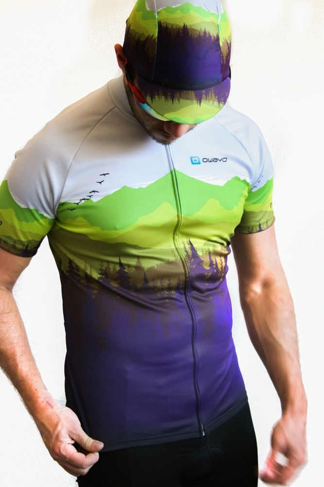 Image of Backwoods Cycling Jersey  975082ded