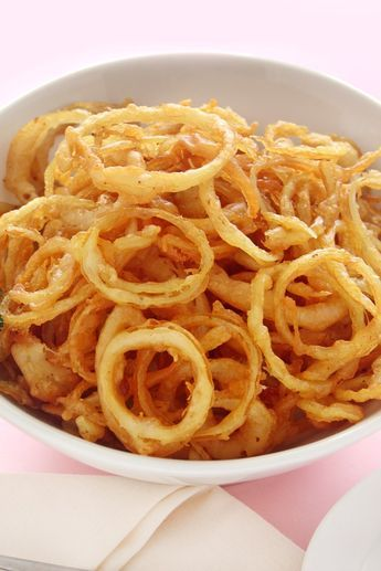 Onion Strings Recipe If I Make It I Will Delete The Salt And Use Salt Substitute I Love Onion