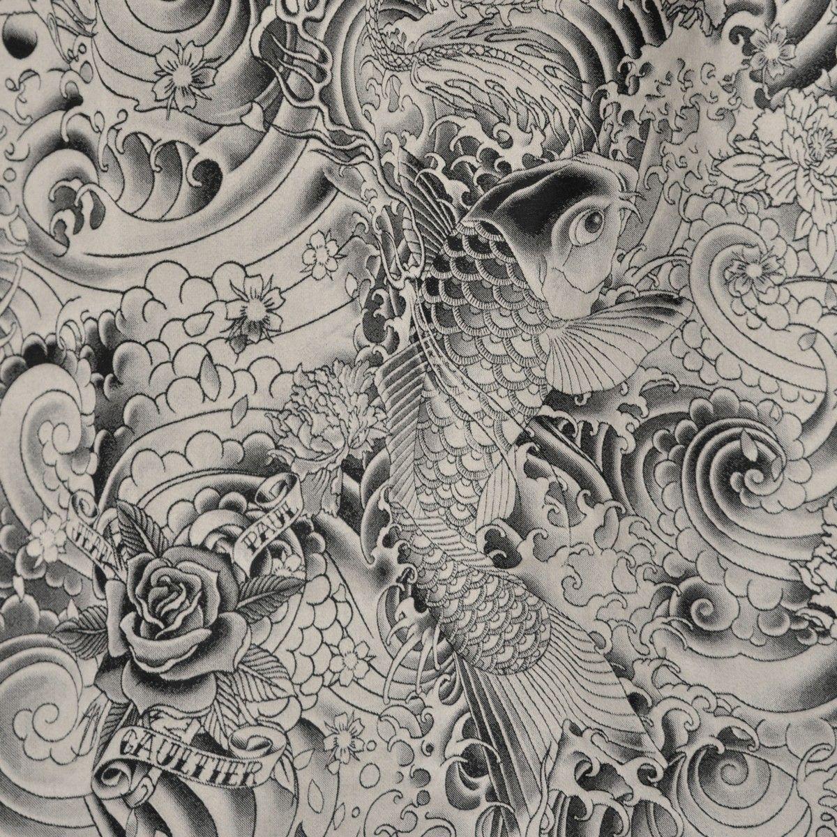 Tissu Jean Paul Gaultier tissu komodo - jean paul gaultier | jean paul gaultier
