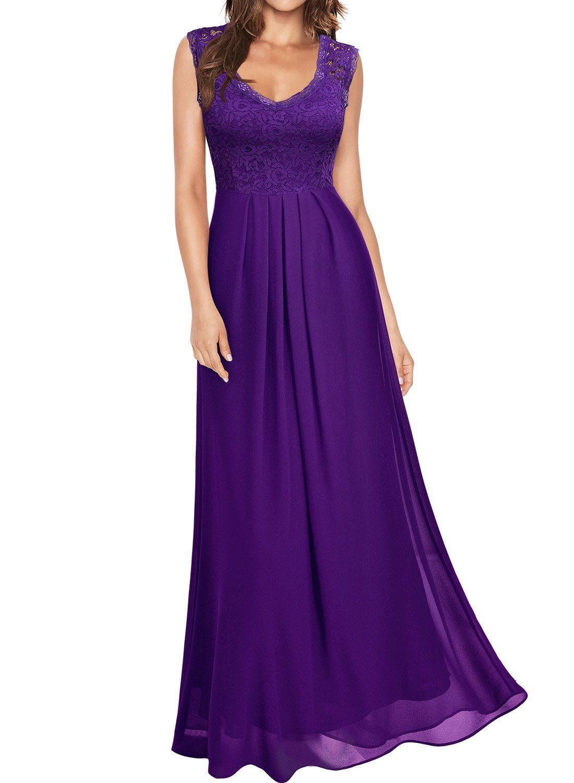 Free 2 Day Shipping Buy Women S Formal Lace Wedding Dresses Vintage Evening Purple Dresses Formal Purple Bridesmaid Dresses Long Royal Purple Bridesmaid Dress [ 1500 x 1100 Pixel ]