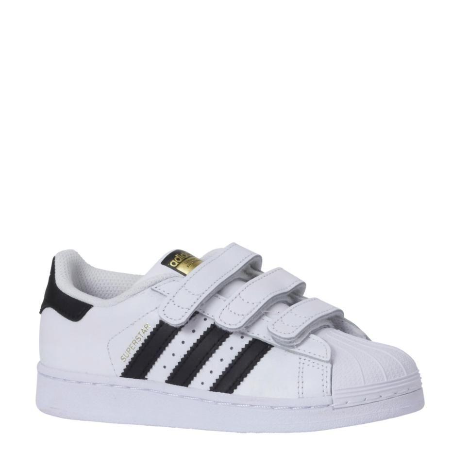 Adidas superstar fondazione c. bambini originali, lavori stradali zwart wit /