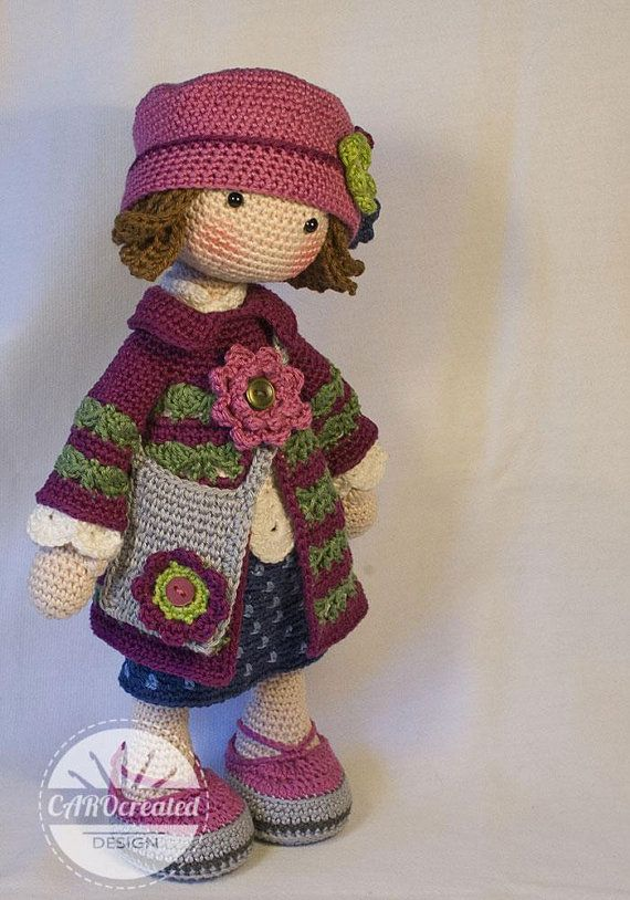 Crochet Pattern for Doll TILDA, pdf (Deutsch, English, Français, Nederlands, Español) #crochetdoll