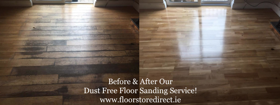 Dust Free Floor Sanding, Sand, Stain and Finish Service