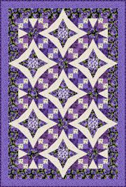 Pansies in Paradise by Debbie Beaves - pattern