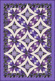 Pansies in Paradise by Debbie Beaves - pattern